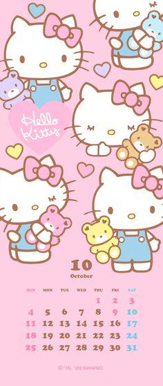 Sanrio Wallpaper, Kawaii Wallpaper, Walpaper Hello Kitty, October Sun, Sanrio Characters, Cute Wallpapers, Doodles, Positivity, Instagram