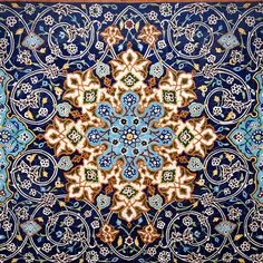 """Handmade Tile Pattern Ideas From Iranian Artistic Minds"" Tile Patterns, Pattern Art, Textures Patterns, Pattern Ideas, Islamic Art Pattern, Arabic Pattern, Persian Pattern, Oriental Pattern, Motifs Islamiques"