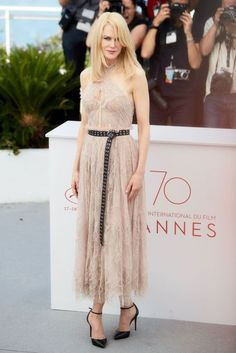 Nicole Kidman in Alexander McQueen. The Beguiled Photocall - May 24 2017