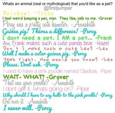 Oh Percy....