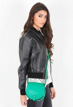 Rebecca Minkoff Mini Skylar Bag in Green