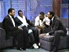 1990: Arsenio Hall interview w/ Mummad Ali, Sugar Ray Leonard & Mike Tyson