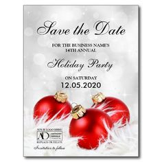 Save The Date Christmas Party Template Free.Pinterest