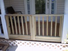 Nosworthy Front Porch gate- brilliant for child safety