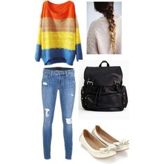 """school ootd"" by shaina-montgomery on Polyvore"