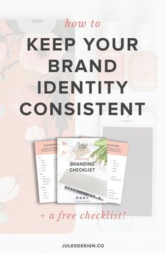 How to keep your brand identity consistent + a free checklist! After your branding is complete, the next thing I recommend doing is building out your brand's digital presence. Your website is a hub for everything that is going on in your brand. You might use social media a bunch, but the goal is always to get people onto your website so that they can take action. Usually, by either joining your email list or purchasing from you. Also remember, that your digital presence includes so much more…