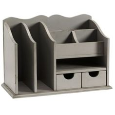 Desk organizer cubicle