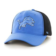 b0a021138450a Detroit Lions Draft Day Closer Blue Raz 47 Brand Stretch Fit Hat - Great  Prices And Fast Shipping at Detroit Game Gear