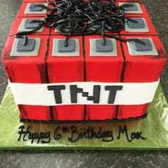 Amazing Cakes - Anaheim, CA, United States. Minecraft Birthday Party