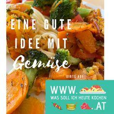 Eine gute Rezeptidee mit Gemüse Meat, Chicken, Food, Recipies, Essen, Meals, Yemek, Eten, Cubs