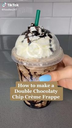 #Starbucks #Frappuccino #Chocolate