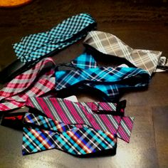 Bow ties for the boys!!