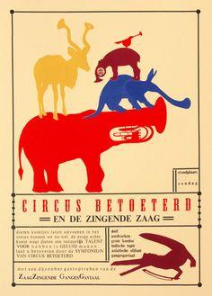 Image of poster - circus betoeterd
