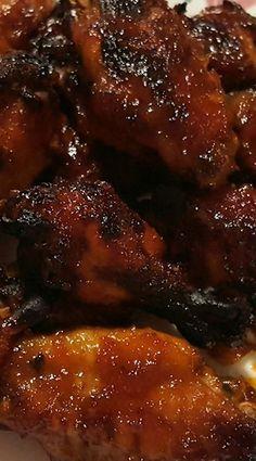 Pressure Cooker Honey Bourbon Chicken Wings