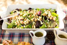 All Time Ever – Apple Walnut and White Cheddar Salad with Maple Vinagrette!