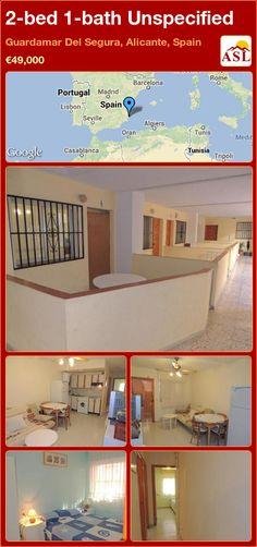 2-bed 1-bath Unspecified in Guardamar Del Segura, Alicante, Spain ►€49,000 #PropertyForSaleInSpain