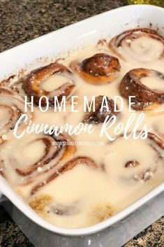 This Christmas tradition is worth ALL the time and effort... trust me you need the Homemade Cinnamon Rolls in your life!