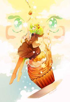 """Vocaloid - Megpoid Gumi from """"Yowamushi Montblanc"""""""