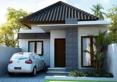 rustic home decor direct sales using exterior house design app free with indian house front elevation ground floor for 150 sq yards house plans india Bungalow House Design, House Front Design, Small House Design, Roof Design, Modern House Design, One Storey House, Modern Minimalist House, Design Home App, Build Your Own House