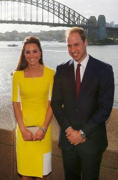 Kate Middleton: 'William disse que eu pareço uma banana'