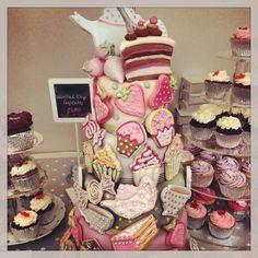 Cakes from a Foodies Festival Edinburgh