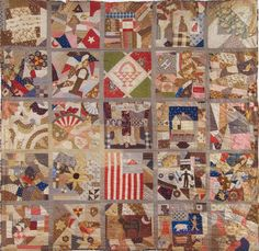 Country Scenes, 1885. Various Makers. South Royalston. Massachusetts Quilts, Our Common Wealth.