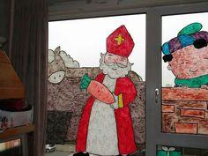 Sinterklaas op je raam