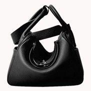 Linda Leather Bag Black