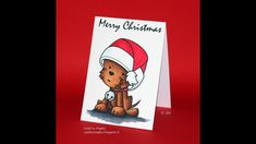 Everyday Christmas card #14 and Oldie but goodie #16 Spectrum Noir and Spectrum Illustrator coloring