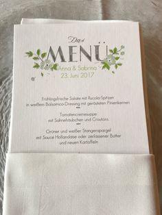 Menükarten Kartenmacherei, Bunte Wiesenblumenhochzeit im Riessersee Hotel Garmisch-Partenkirchen, heiraten in Bayern, zwei Bräute, Regenbogen