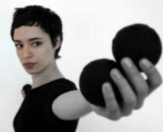 """Renée Adorée"" 2004 - Inês Jacques Choreografer, performer, singer"