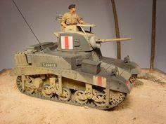 "Missing Links Gallery Mic Bradshaw M3 Light Tank ""Honey"""