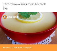 Citromkrémleves🍋 Pudding, Desserts, Food, Tailgate Desserts, Deserts, Custard Pudding, Essen, Puddings, Postres