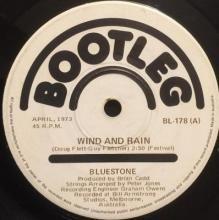 WIND AND RAIN / ROAD TO NOWHERE | BLUESTONE | 7 inch single | $20.00 AUD | music4collectors.com