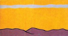 Roy Lichtenstein - Yellow Sky (1966)