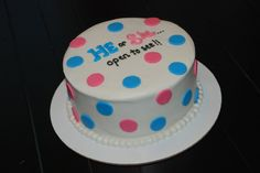 baby reveal cakes | baby-reveal-gender-cake