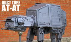 Make your own Starwars Walker! Super awesome!
