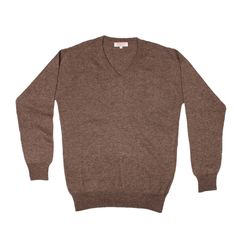 Classic v-neck, full sleeves 100% cashmere sweater made in Nepal.@ JUST $  $30.85