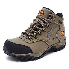 Hi-Tec Penrith Mid Waterproof, Chaussures de Randonnée Hautes Homme, Marron (Chocolate/Taupe/Orange), 43 EU