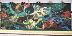 Alexone New Mural In Nantes, France