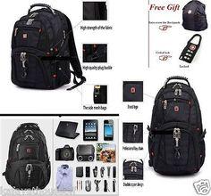 SwissGear Unisex Quality Backpack 15.6'' Laptop + Gift Bag Nylon (scheduled via http://www.tailwindapp.com?utm_source=pinterest&utm_medium=twpin&utm_content=post11881878&utm_campaign=scheduler_attribution)