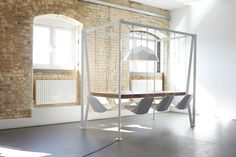 Would Sitting In A Fun Swing Make Your Stupid Meetings Less Boring? | Co.Exist | ideas + impact