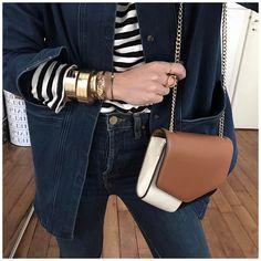 """3,076 Likes, 43 Comments - Audrey Lombard (@audreylombard) on Instagram: """"Avec du retard, la tenue du jour (avec le sac Léopard caché dans le cabas Céline) : • Sunglasses…"""""""