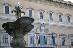 Le Palais Farnèse à Rome