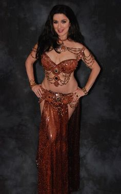 Loving the copper! #bellydancing