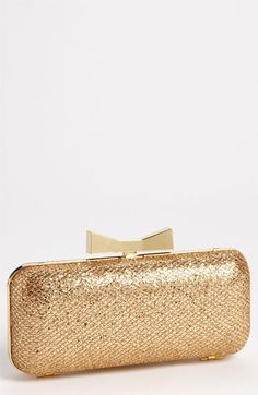 Glitter Clutch featured here: http://www.theperfectpalette.com/2012/10/wedding-colors-i-love-glittery-golds.html