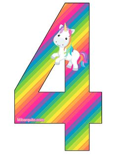 Superhero Birthday Party, Unicorn Birthday Parties, Unicorn Party, Birthday Letters, Birthday Numbers, Birthday Cards, My Little Pony Cumpleaños, My Little Pony Birthday, Paper Flower Backdrop