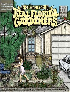 51 Ideas landscaping front yard florida tropical for 2019 Backyard Trees, Backyard Garden Design, Garden Landscape Design, Backyard Patio, Patio Design, Tropical Backyard, Rustic Backyard, Big Garden, Lanai Design