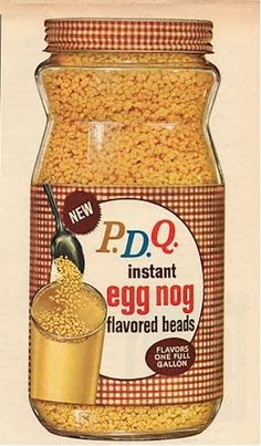 Gone But Not Forgotten Groceries: From The Beverage Aisle: PDQ
