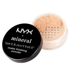 NYX Mineral finishing powder - Boots